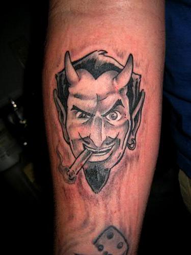Devil Women Tattoos for Men