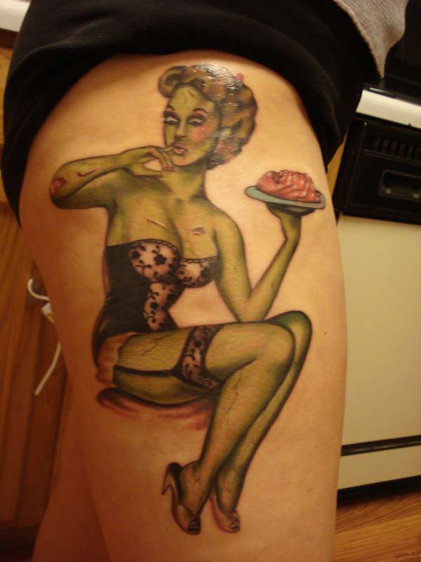pinup tattoo meanings tattoosphoto