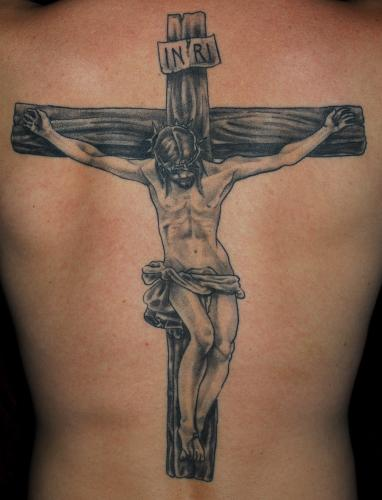 Religious Tattoos | tattoosphoto Jesus Christ On The Cross Drawings For Tattoos