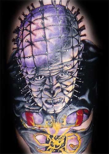 horror tattoos tattoosphoto. Black Bedroom Furniture Sets. Home Design Ideas