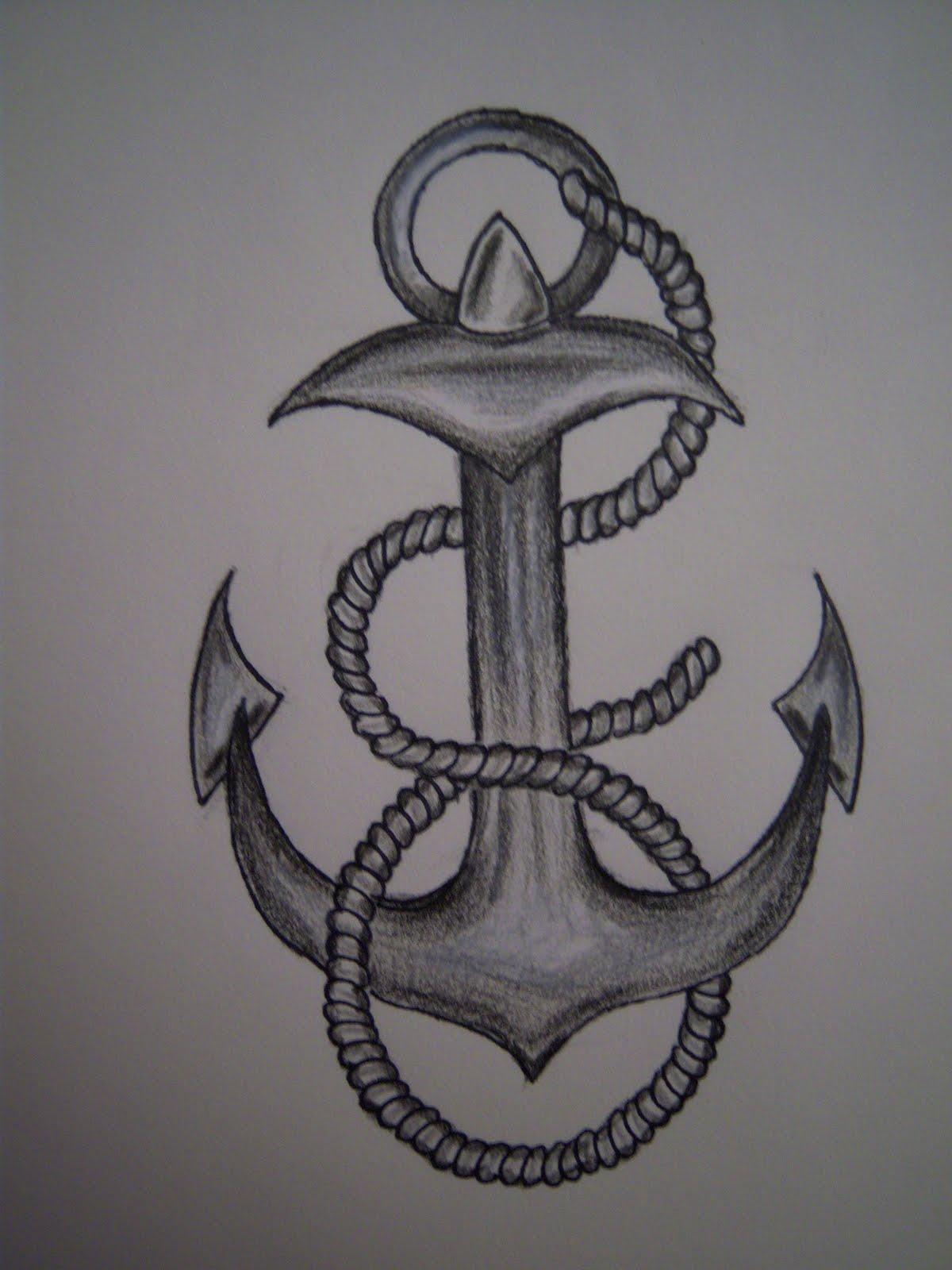 Hook tattoo designs - Anchor Tattoos